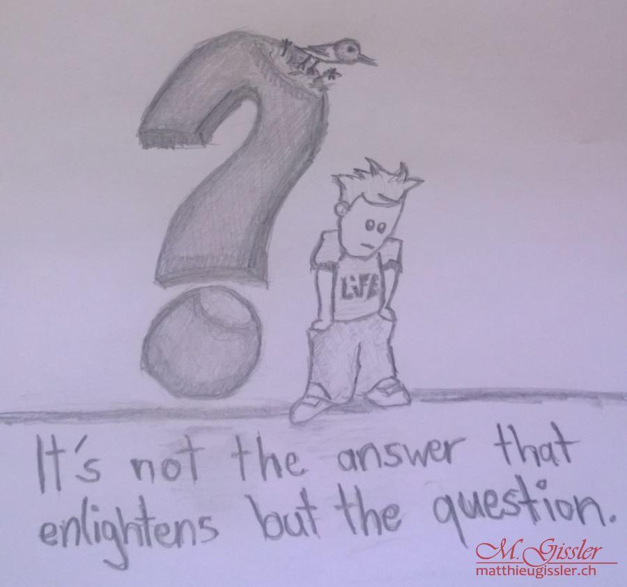 die Frage