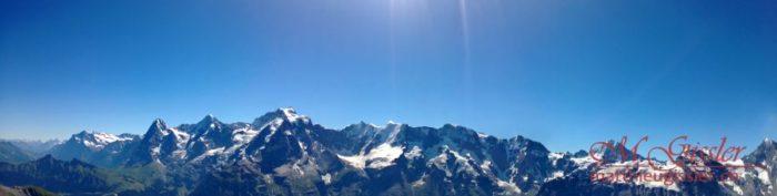 schöne Bergwelt Panorama